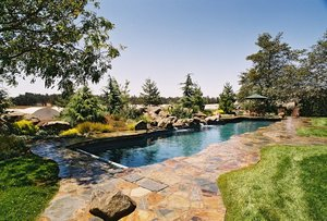 Residential Pool #005 by Carefree Pools and Spas