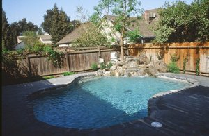 Residential Pool #009 by Carefree Pools and Spas