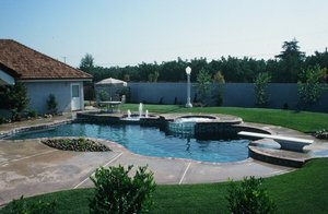 Residential Pool #010 by Carefree Pools and Spas