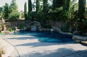 Residential Pool #011 by Carefree Pools and Spas