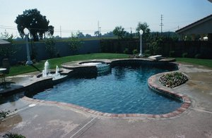 Residential Pool #018 by Carefree Pools and Spas