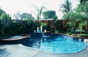 Residential Pool #023 by Carefree Pools and Spas