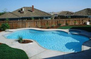 Residential Pool #025 by Carefree Pools and Spas