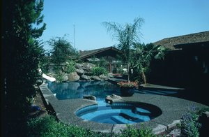 Residential Pool #026 by Carefree Pools and Spas