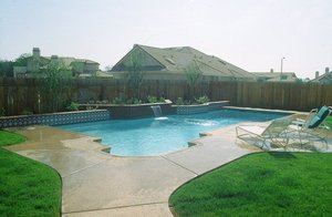 Residential Pool #029 by Carefree Pools and Spas