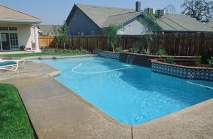 Residential Pool #032 by Carefree Pools and Spas