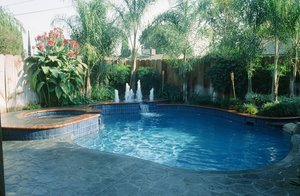 Residential Pool #034 by Carefree Pools and Spas