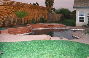 Residential Pool #037 by Carefree Pools and Spas