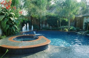 Residential Pool #038 by Carefree Pools and Spas
