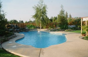 Residential Pool #045 by Carefree Pools and Spas