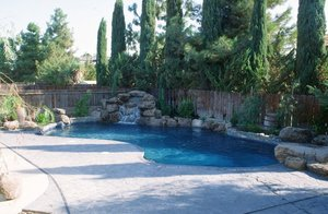 Residential Pool #054 by Carefree Pools and Spas
