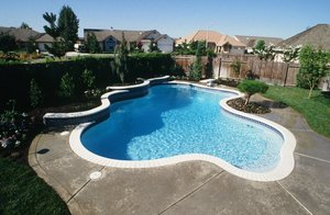 Residential Pool #056 by Carefree Pools and Spas