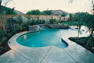 Residential Pool #061 by Carefree Pools and Spas