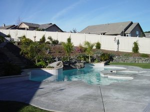 Residential Pool #063 by Carefree Pools and Spas