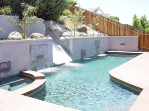 Residential Pool #068 by Carefree Pools and Spas