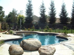 Residential Pool #074 by Carefree Pools and Spas