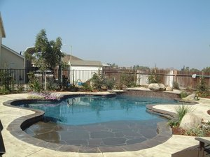 Residential Pool #075 by Carefree Pools and Spas
