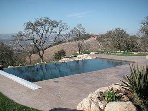 Residential Pool #079 by Carefree Pools and Spas