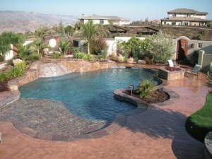 Residential Pool #086 by Carefree Pools and Spas