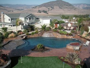 Residential Pool #087 by Carefree Pools and Spas