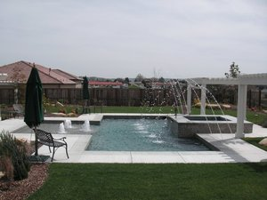 Residential Pool #090 by Carefree Pools and Spas