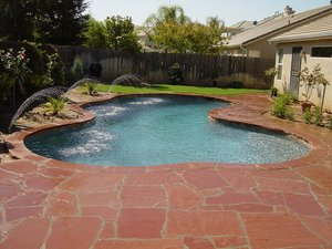 Residential Pool #091 by Carefree Pools and Spas