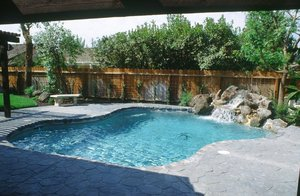Residential Pool #092 by Carefree Pools and Spas