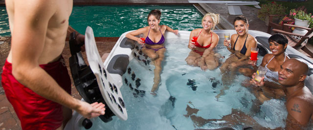 bullfrog spas are premium hot tubs with patented technology just for you the only hot tubs to feature the oneofakind jetpak therapy
